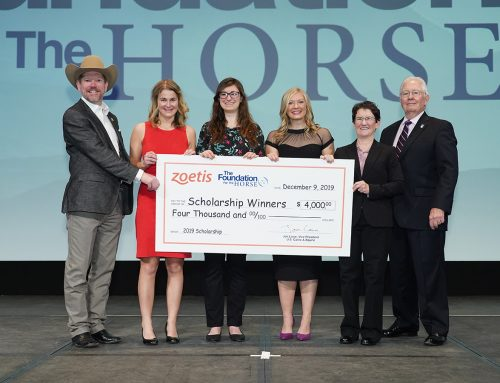 Zoetis and The Foundation for the Horse offer $4,000 scholarships  to recent equine veterinary graduates and fourth-year students